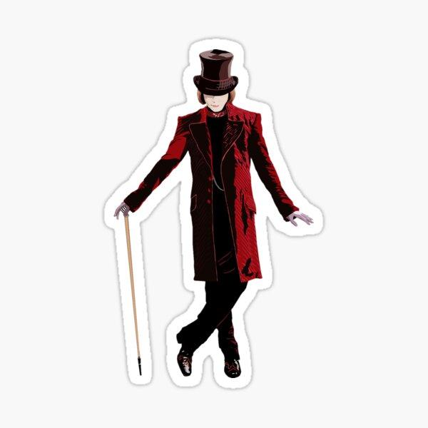 Willy Wonka 2005 Sticker