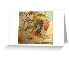 Held Fast Greeting Card