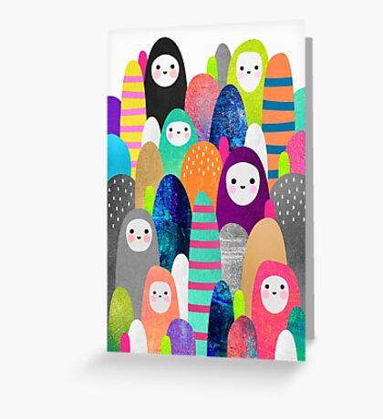 Pebble Spirits Greeting Card