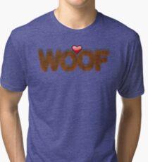 WOOF Tri-blend T-Shirt