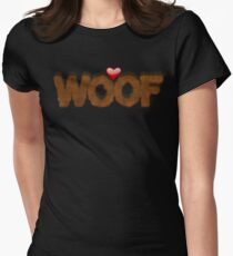 WOOF Women's Fitted T-Shirt