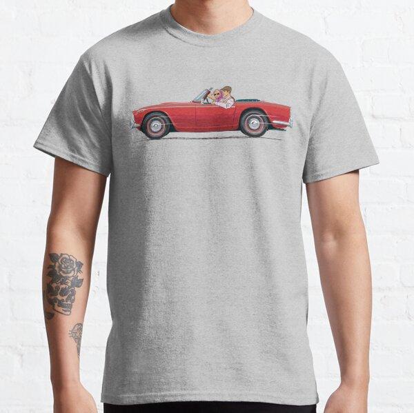 Damson Red Triumph TR4a Classic T-Shirt