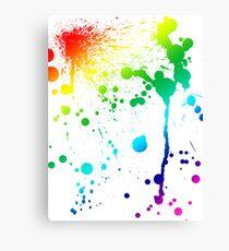Pride Paint Canvas Print