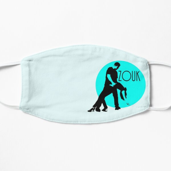 zouk dancers - blue moon Mask