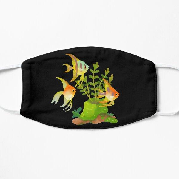 Fresh water fish and plants - Angelfish Flat Mask
