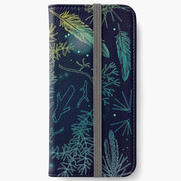 wild forest things iPhone Wallet