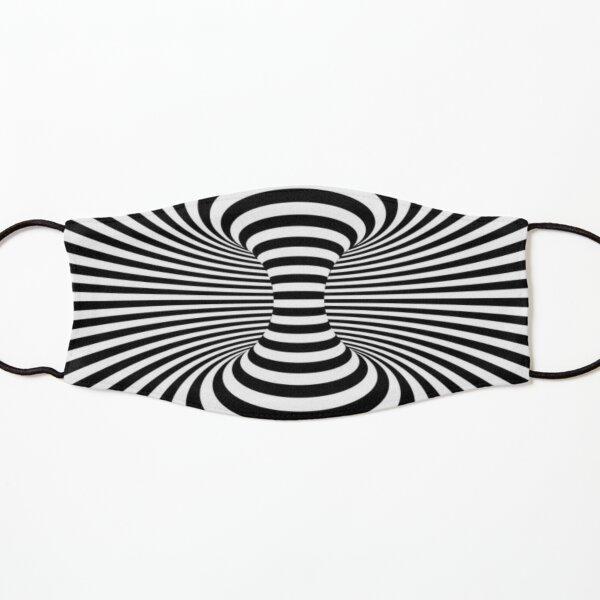 Black & White Space Optical Illusion  Kids Mask