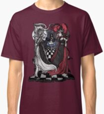 Alice and her Queens: The Checkered Board Classic T-Shirt