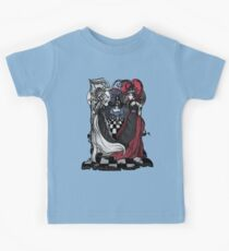Alice and her Queens: The Checkered Board Kids Tee