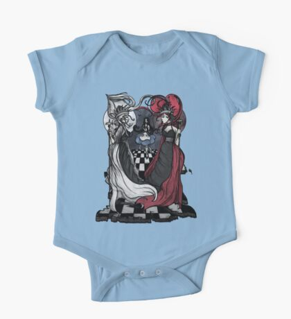 Alice and her Queens: The Checkered Board Kids Clothes
