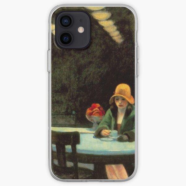 AMERICAN ARTIST. Edward Hopper. Automat. 1927. iPhone Soft Case