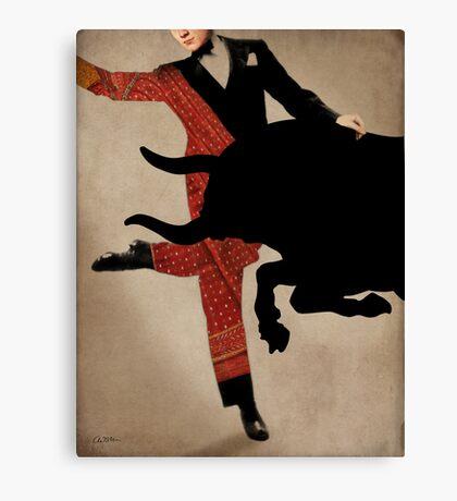Dance Of Taurus Canvas Print