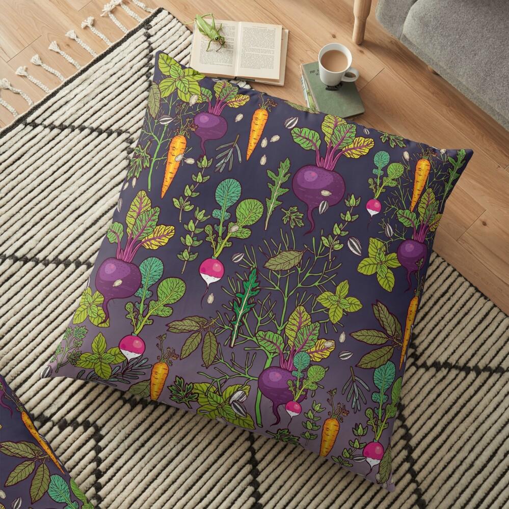 Gardener's dream Floor Pillow