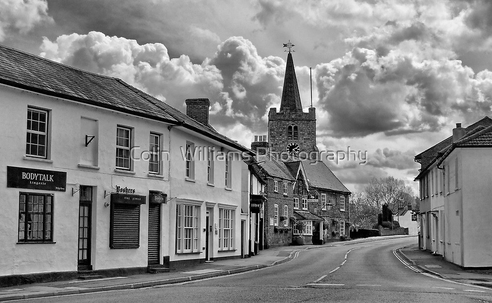 Rain Ahoy - Chobham High Street by Colin  Williams Photography