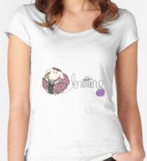 knitting ewe Women's Fitted Scoop T-Shirt