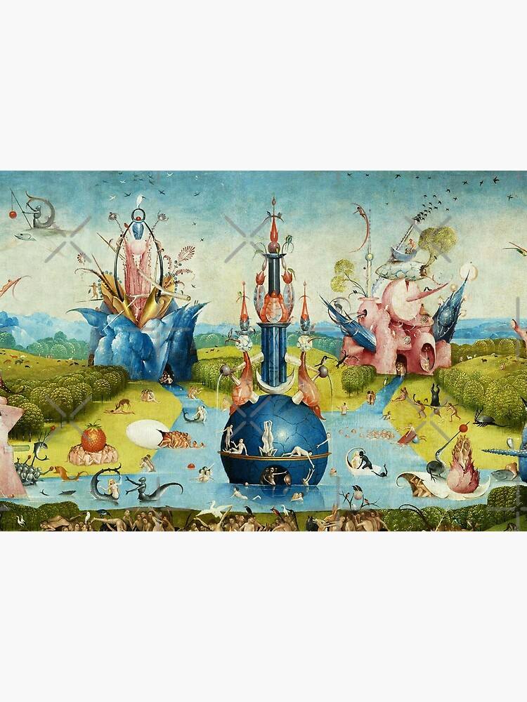 Garden of Earthly Delights , Paradise by Hieronymus Bosch by BulganLumini