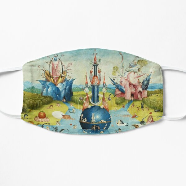 Garden of Earthly Delights , Paradise by Hieronymus Bosch Mask
