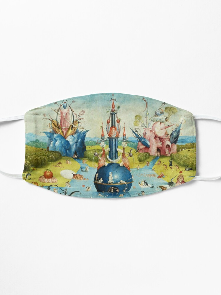 Alternate view of Garden of Earthly Delights , Paradise by Hieronymus Bosch Mask