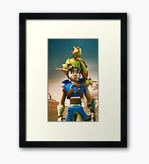 Jak and Daxter cover Framed Print