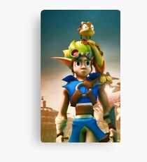 Jak and Daxter cover Canvas Print