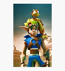 Jak and Daxter cover Photographic Print