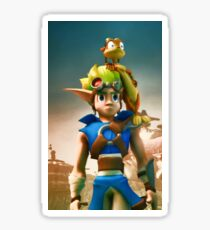 Jak and Daxter cover Sticker