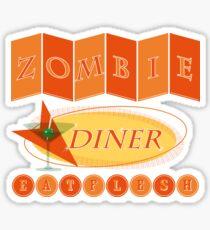 Zombie diner Sticker