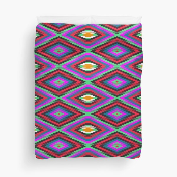 american native traditional Duvet Cover