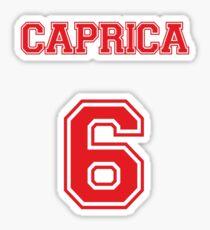 Caprica 6 Sticker