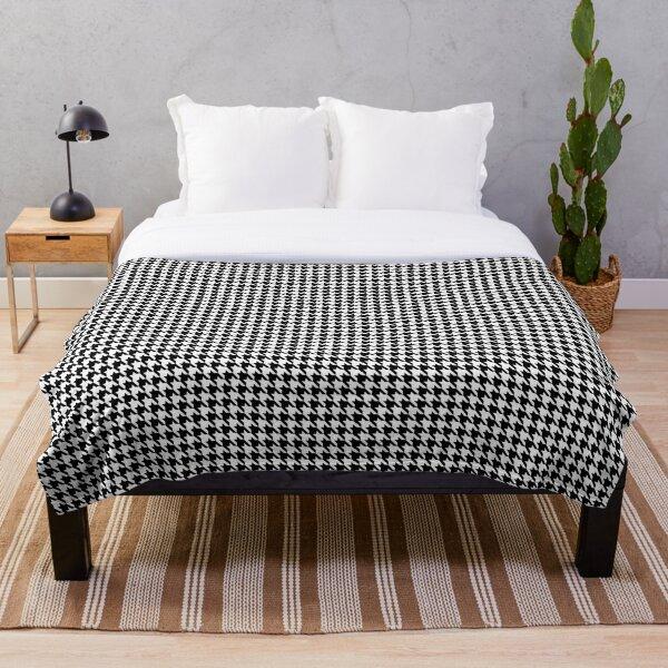 Alabama Houndstooth Design Throw Blanket