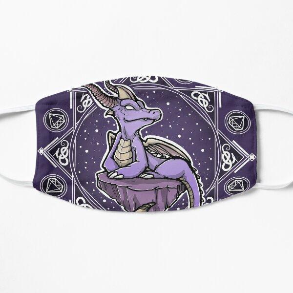 Violet Dragon Flat Mask
