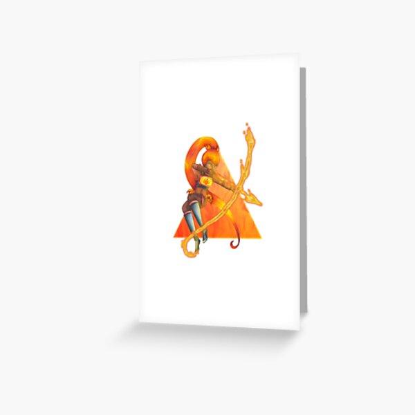 Element of Fire - Sagittarius Greeting Card