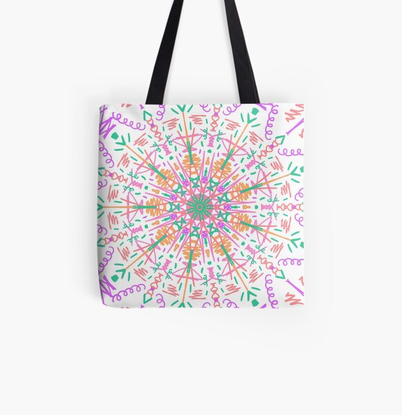 Sunshiney Day All Over Print Tote Bag