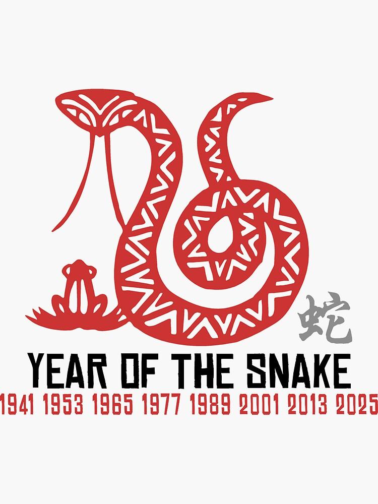 Year of The Snake T-Shirt by ChineseZodiac