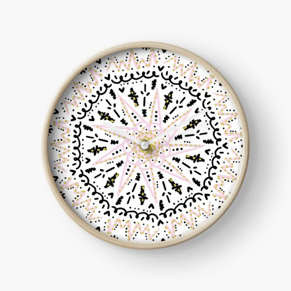 Bohemian dream Clock