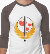 Applejack's Rangers Logo Men's Baseball ¾ T-Shirt
