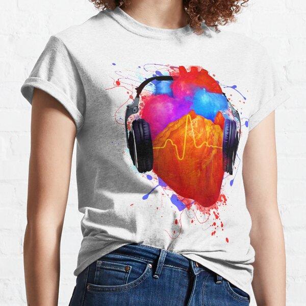 No Music - No Life Classic T-Shirt