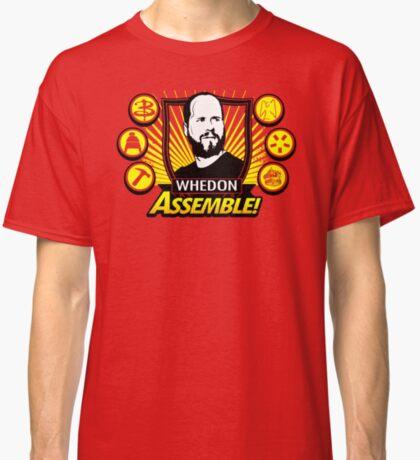 Whedon Assemble Camiseta clásica