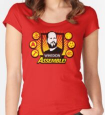 Whedon Assemble Women's Fitted Scoop T-Shirt