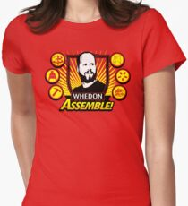 Whedon Assemble Women's Fitted T-Shirt