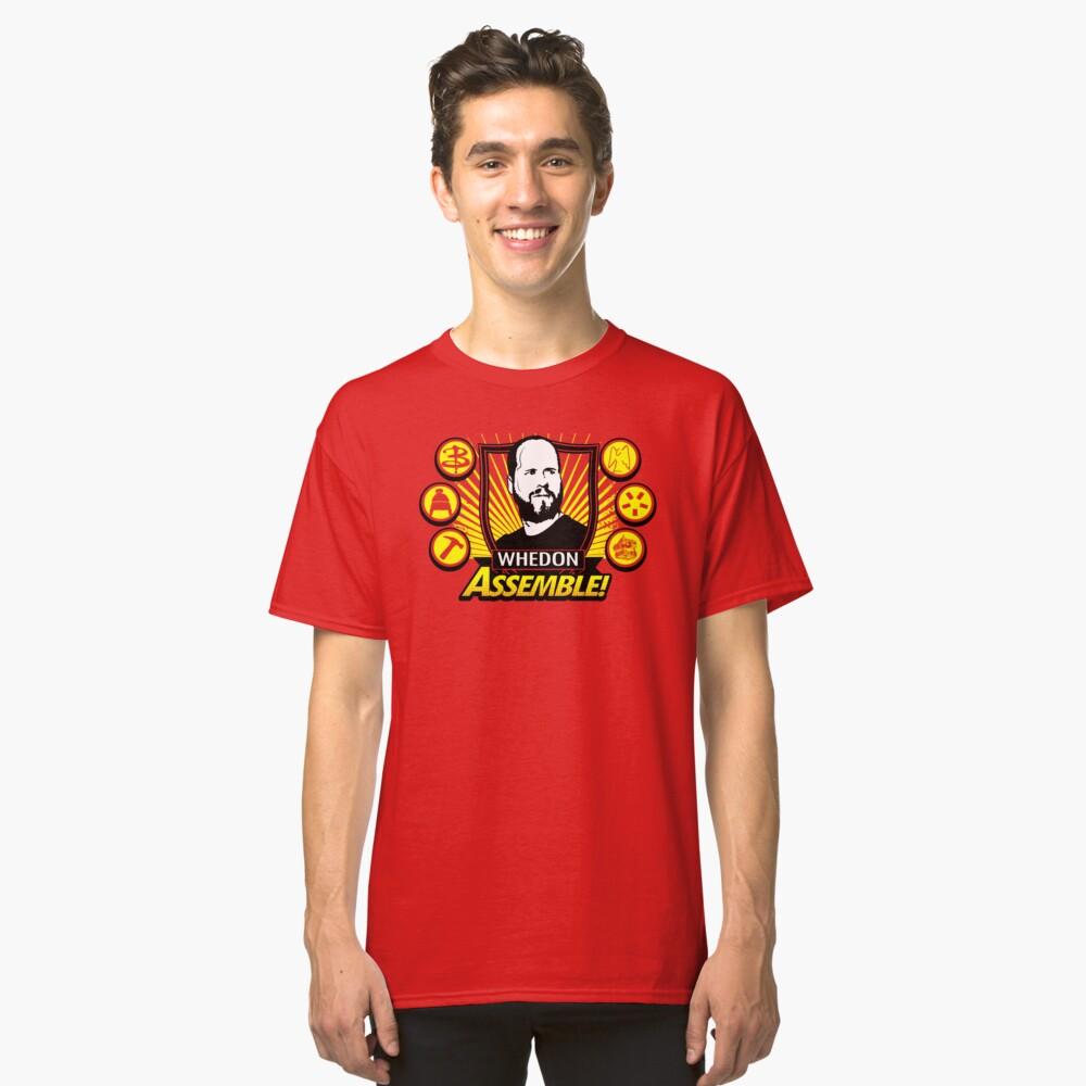 Whedon Assemble Classic T-Shirt Front