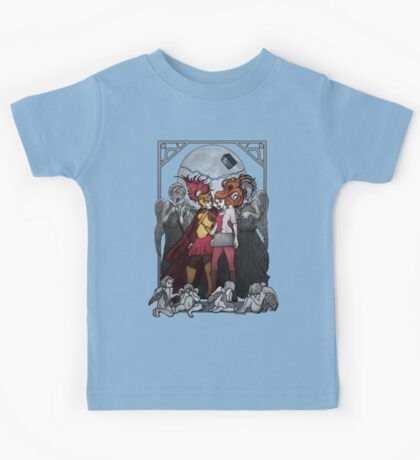 The Angels take the Ponds Kids Clothes