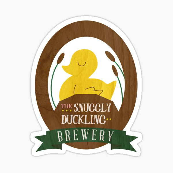 The Snuggly Duckling Brewery Sticker