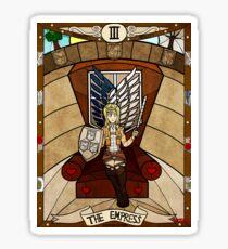 III The Empress - Christa Renz Sticker