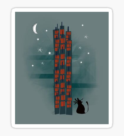 Urban Cat Sticker