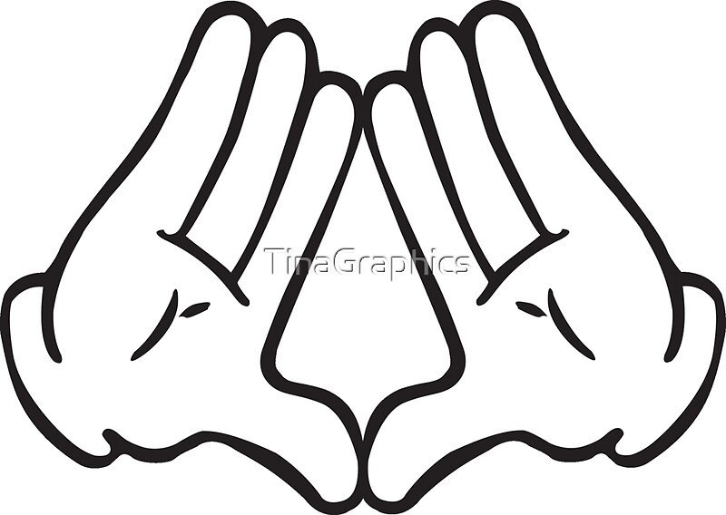 """""""Dope Hands Triangle"""" Stickers by TinaGraphics 