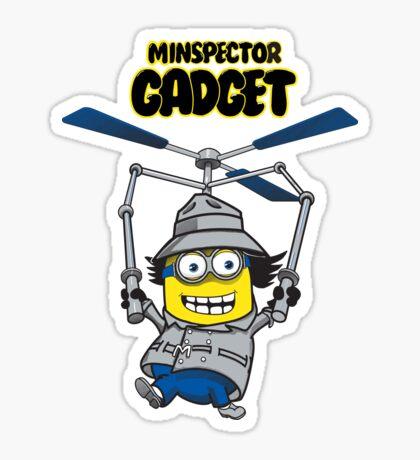 Minspector Gadget Sticker