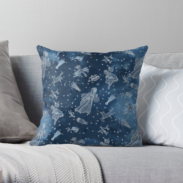 All the stars in the sky Throw Pillow