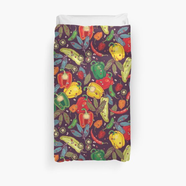 Hot & spicy! Duvet Cover