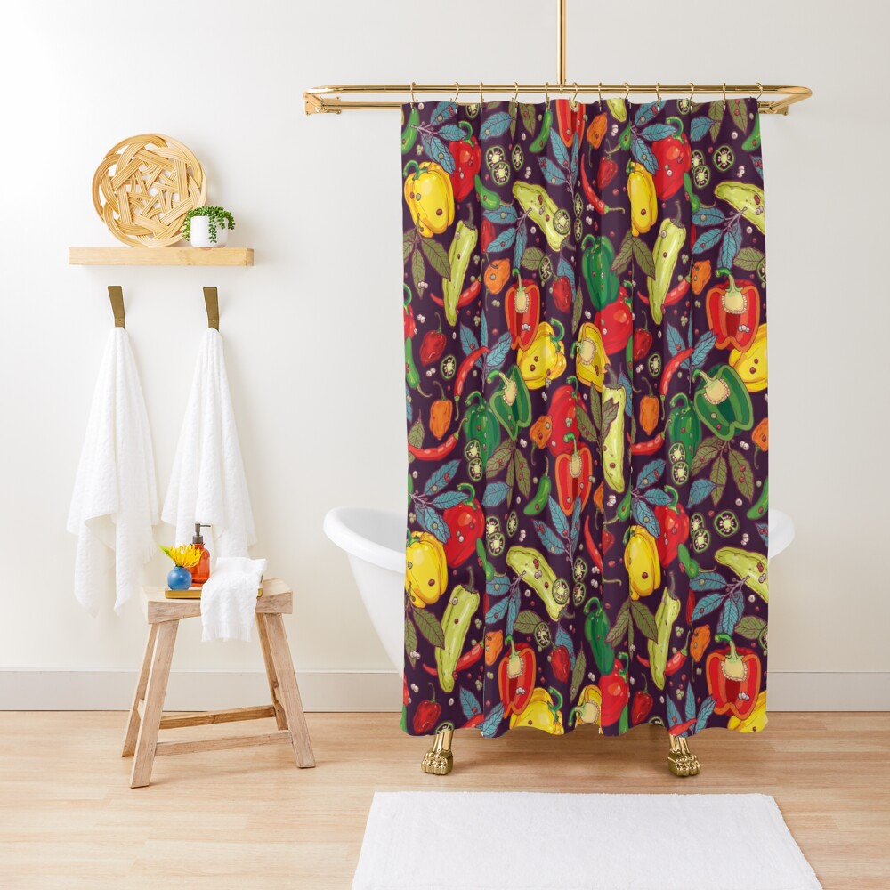 Hot & spicy! Shower Curtain